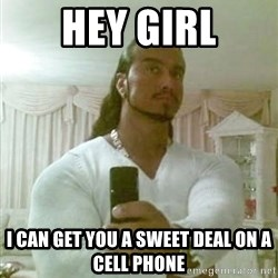 Guido Jesus - Hey girl I can get you a sweet deal on a cell phone