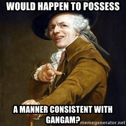 Joseph Ducreaux - Would happen to Possess A manner consistent With gaNgam?