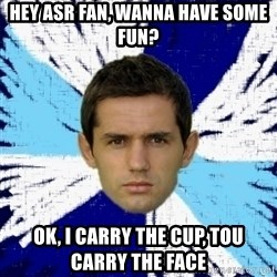 LULIC - Hey Asr fan, wanna have some fun? ok, i carry the cup, tou carry the face