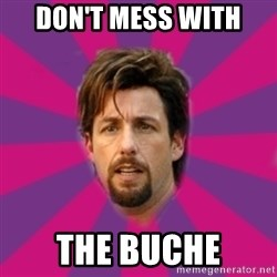 zohan - don't mess with the buche