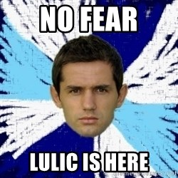 LULIC - NO FEAR  LULIC IS HERE