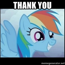Post Ponies - thank you