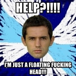 LULIC - Help?!!!! I'm just a floating fucking head!!!