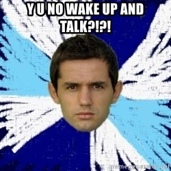 LULIC - Y U NO WAKE UP AND TALK?!?!
