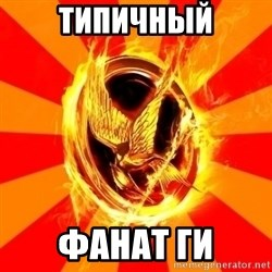 Typical fan of the hunger games - Типичный фанат ГИ