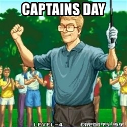 Happy Golfer - Captains Day