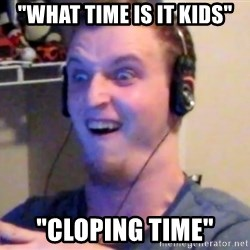 "Brony Mike - ""What Time Is It Kids"" ""Cloping Time"""
