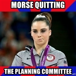 Mckayla Maroney Does Not Approve - Morse Quitting The Planning Committee