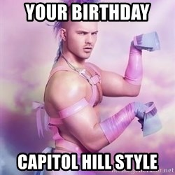 Unicorn Boy - Your Birthday  Capitol Hill Style