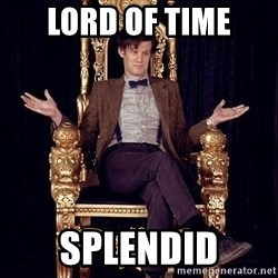 Hipster Doctor Who - Lord of Time Splendid