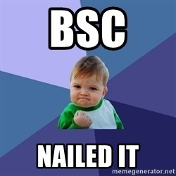 Success Kid - bsc  nailed it