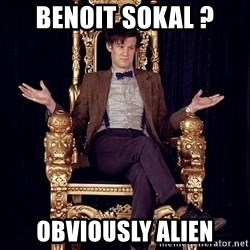 Hipster Doctor Who - Benoit Sokal ? Obviously Alien