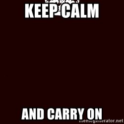 KEEP CALM and WAIT FOR A - keep calm  and carry on