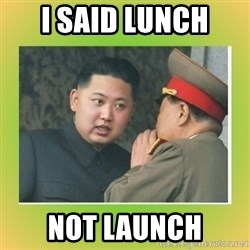 kim joung - I SAID LUNCH  NOT LAUNCH