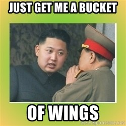kim joung - JUST GET ME A BUCKET  OF WINGS