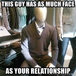 Trenderman - THIS GUY HAS AS MUCH FACE  AS YOUR RELATIONSHIP