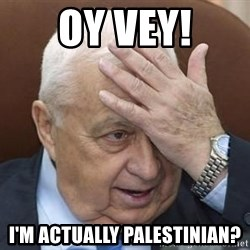 Forgetful Prime Minister - OY VEY! I'm actually palestinian?
