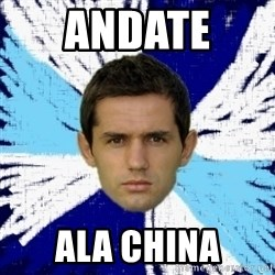 LULIC - ANDATE  ALA CHINA