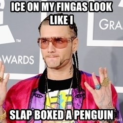 Intellectual Riff Raff - Ice on my fingas look like I SLAP BOXED A PENGUIN