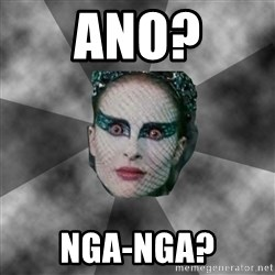 Black Swan Eyes - ano? nga-nga?