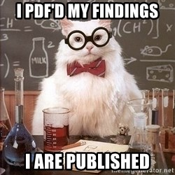 Chemistry Cat - I PDF'd my findings i are published