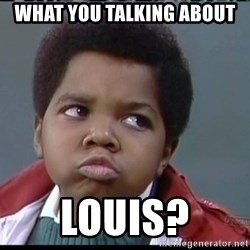 Arnold Different strokes - What You Talking About Louis?