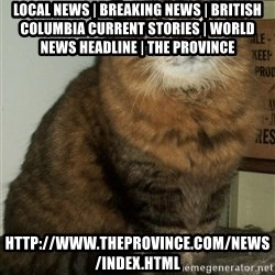 ZOE GREAVES DTES VANCOUVER - Local News   Breaking News   British Columbia Current Stories   World News Headline   The Province http://www.theprovince.com/news/index.html