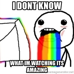 Puking Rainbows - i dont know  what im watching its amazing