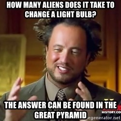 Giorgio A Tsoukalos Hair - How many aliens does it take to change a light bulb? The answer can be found in the Great Pyramid