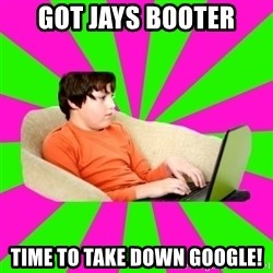 HackForums Kid - Got Jays Booter Time to take down google!