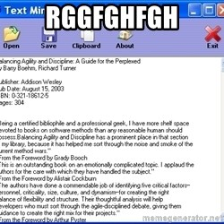 Text - rggfghfgh