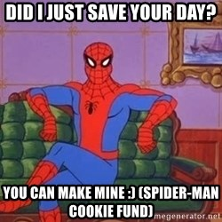 spider manf - Did I just save your day? You can make mine :) (Spider-Man Cookie Fund)