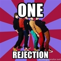 typical 1D - ONE REJECTION