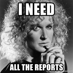 Latte Lies - I need ALL THE REPORTS
