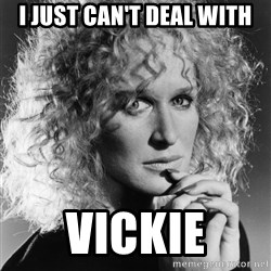 Latte Lies - I just can't deal with vickie