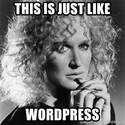 Latte Lies - This is just like wordpress