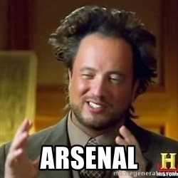 Giorgio Tsoukalos History Channel Man -  ARSENAL