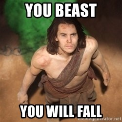 John Farter - YOU BEAST YOU WILL FALL