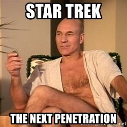 Sexual Picard - Star trek the next penetration