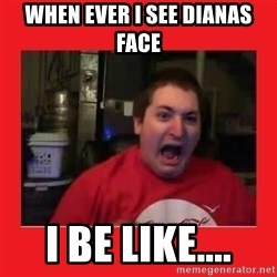 Disgruntled Joseph - When ever i see Dianas face I be like....