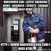 ZOE GREAVES TIMMINS ONTARIO - Vancouver Sun | Latest Breaking News | Business | Sports | Canada Daily News http://www.vancouversun.com/index.html