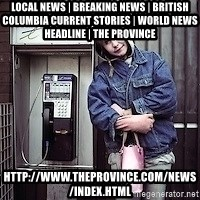ZOE GREAVES TIMMINS ONTARIO - Local News | Breaking News | British Columbia Current Stories | World News Headline | The Province http://www.theprovince.com/news/index.html