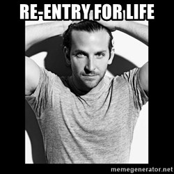 Bradley cooper need sexy help - re-entry for life