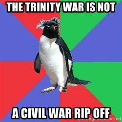 Comic Book Addict Penguin - The trinity war is not A civil war rip off