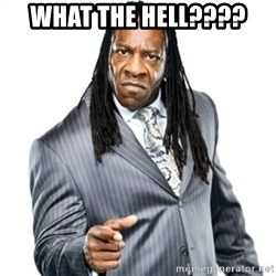 Booker T GM - what the hell????
