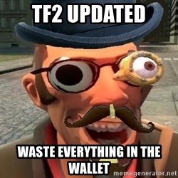 Pr0 TF2 Player - TF2 UPDATED WASTE EVERYTHING IN THE WALLET