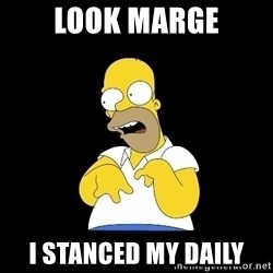 look-marge - LOOK MARGE I STANCED MY DAILY