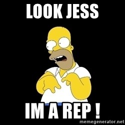 look-marge - Look Jess Im a rep !