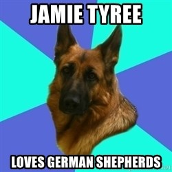German shepherd - Jamie Tyree Loves German Shepherds