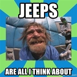 hurting henry - jeeps  are all i think about